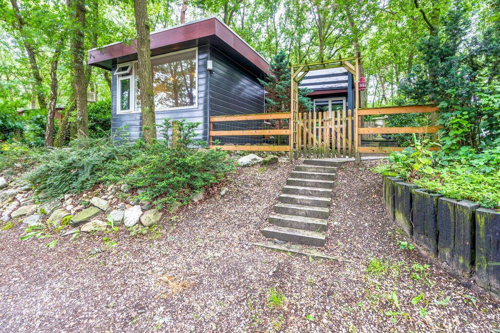 luxe bungalow met sauna en privé tuin in een natuurgebied - Boerderijvakanties.nl