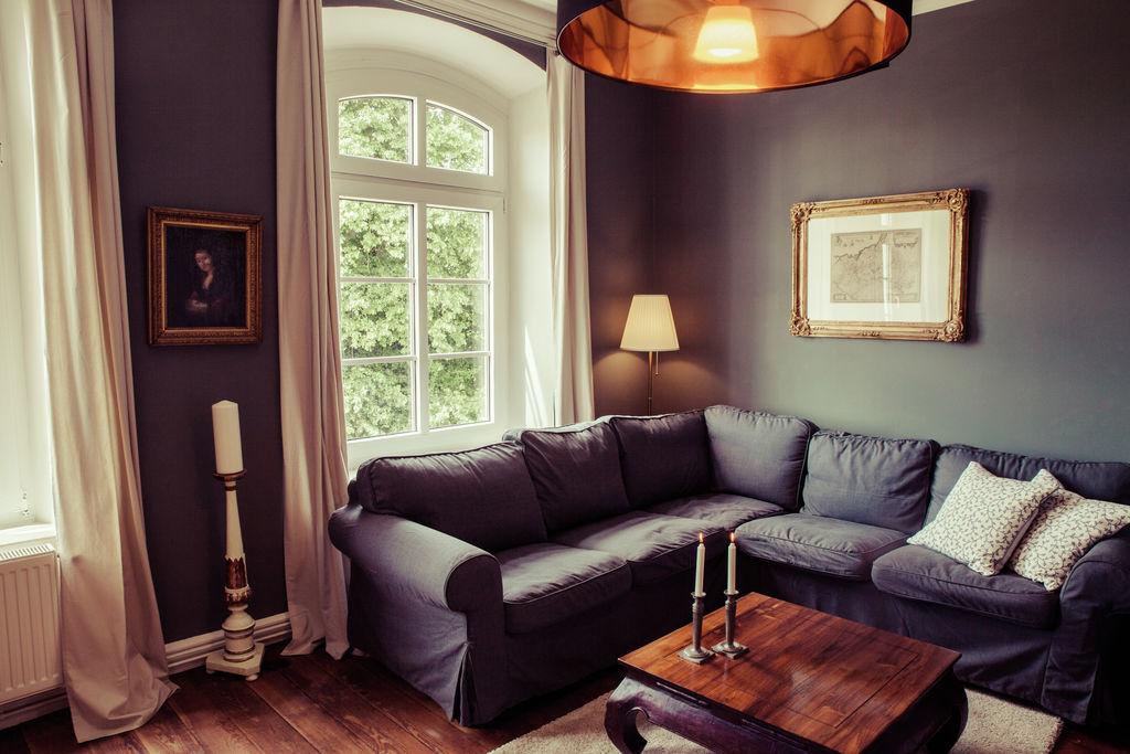 Modern appartement in Kröpelin met barbecue - Boerderijvakanties.nl