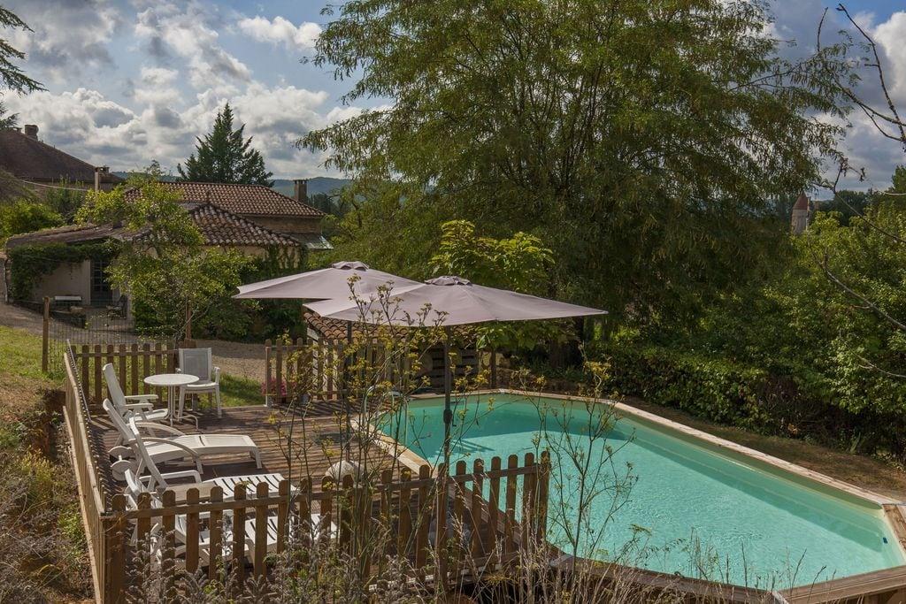 Uniek vakantiehuis in Midi-Pyrénées met een privézwembad - Boerderijvakanties.nl