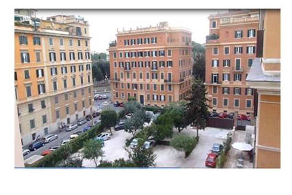 Appartement huren in Lazio -   met wifi  voor 5 personen  Appartement Crescenzio 1 is gelege..
