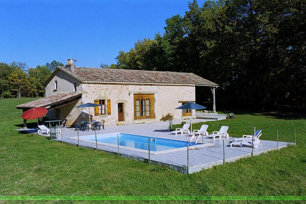 Authentiek vakantiehuis in Aquitaine met privézwembad - Boerderijvakanties.nl