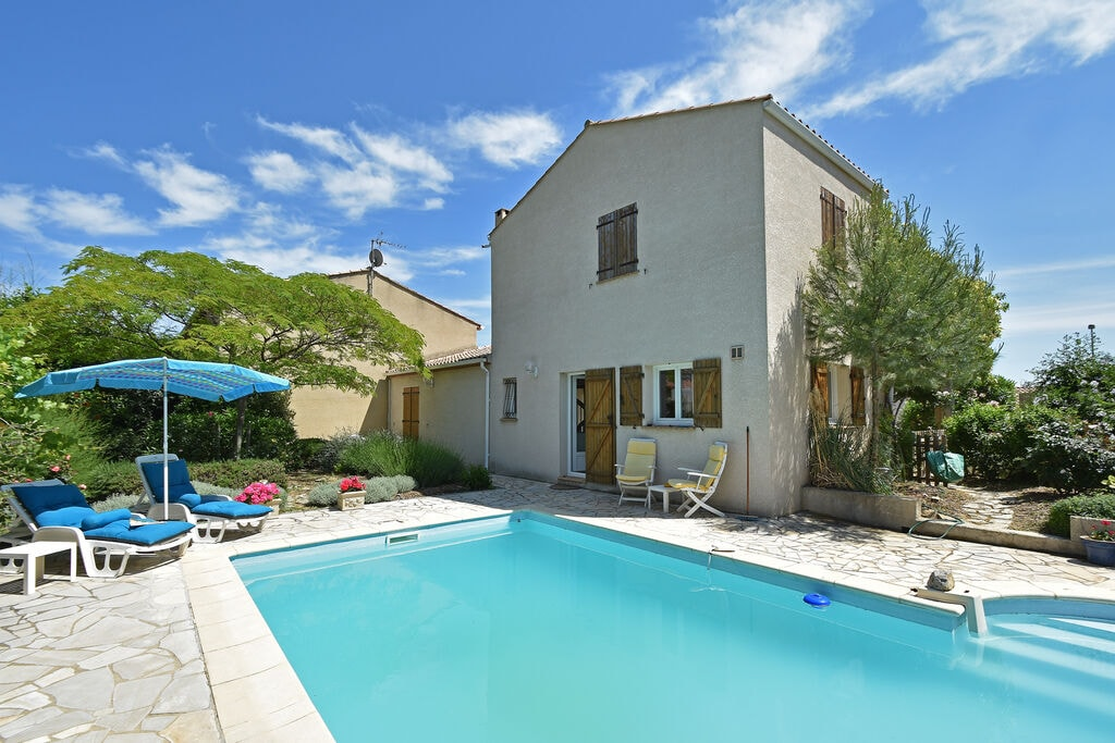 Gezellige villa in Languedoc-Roussillon met een zwembad - Boerderijvakanties.nl