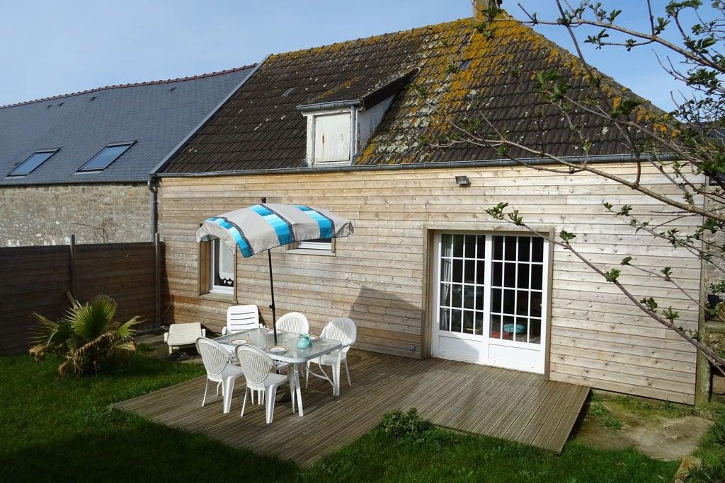 Knusse cottage aan de Normandische kust met tuin - Boerderijvakanties.nl