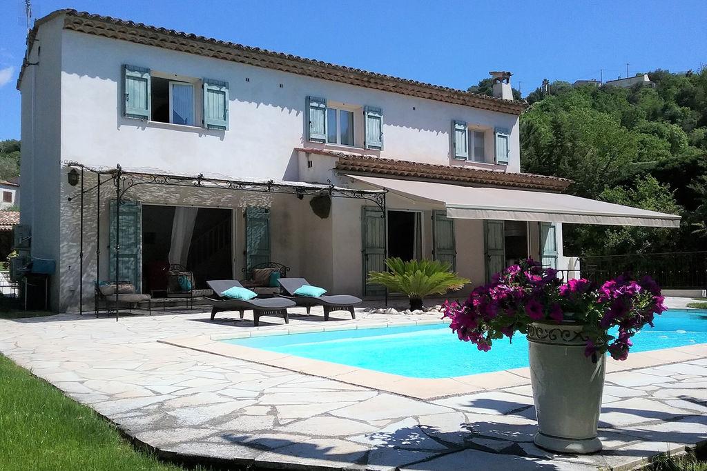 Rustig gelegen villa aan de Côte d'Azur op het platteland - Boerderijvakanties.nl