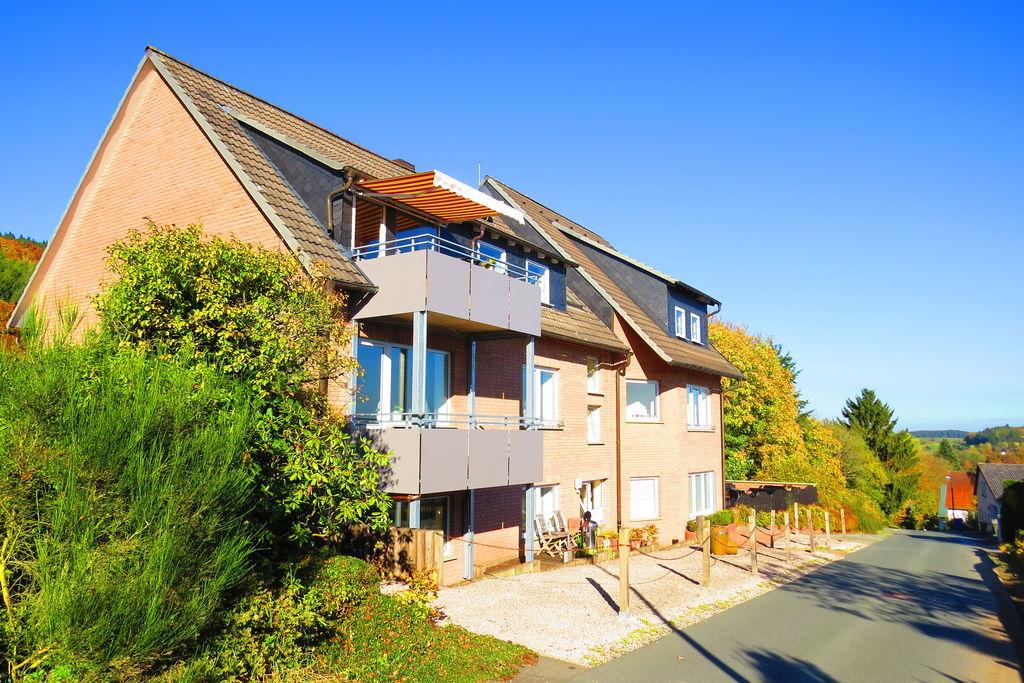 Modern appartement met prachtig uitzicht vanaf het balkon - Boerderijvakanties.nl