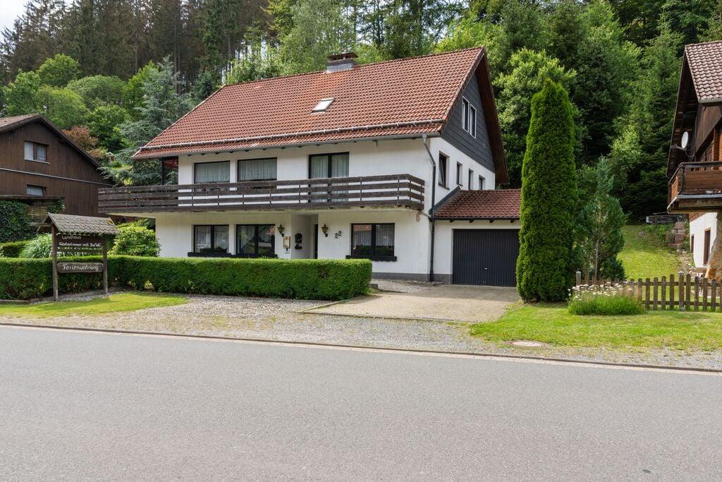 Gezellig appartement in Harz met een overdekt balkon - Boerderijvakanties.nl