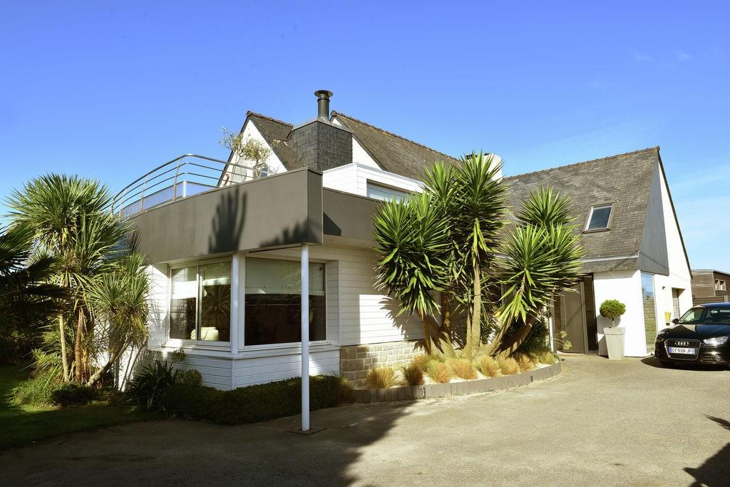 Luxe vakantiehuis in Bretagne met jacuzzi, aan zee gelegen - Boerderijvakanties.nl
