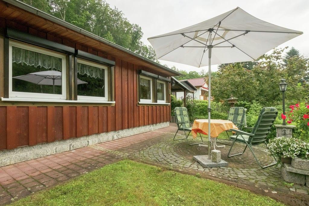 Ruime bungalow in Neustadt, Duitsland, nabij fietspaden - Boerderijvakanties.nl