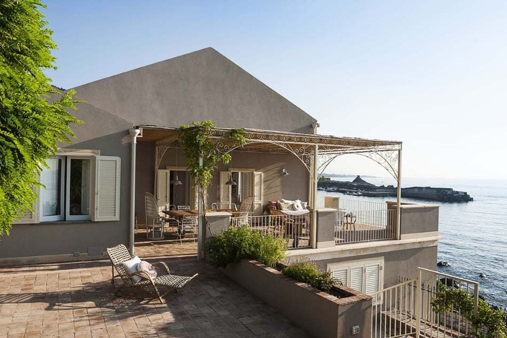 Vakantiewoning huren in Acireale -   met wifi  voor 6 personen  Sulle Onde is een prachtig huis di..