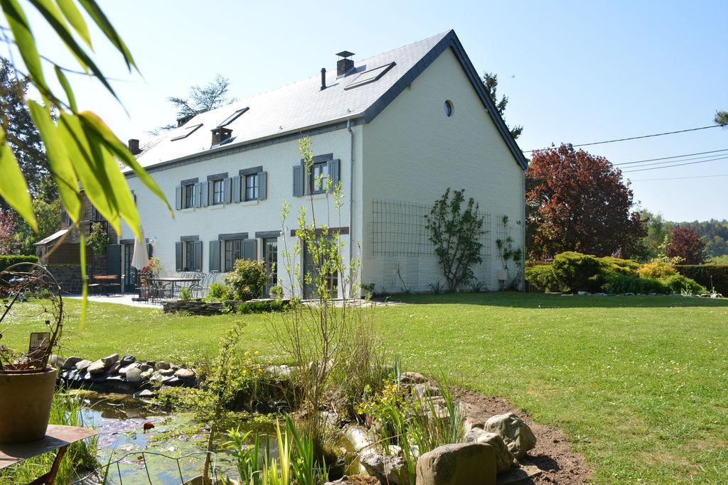 Mooie vakantiewoning in de Ardennen met een omheinde tuin - Boerderijvakanties.nl