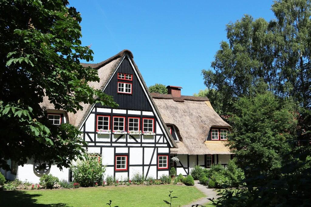 Landelijk appartement in Manhagen met een sauna - Boerderijvakanties.nl