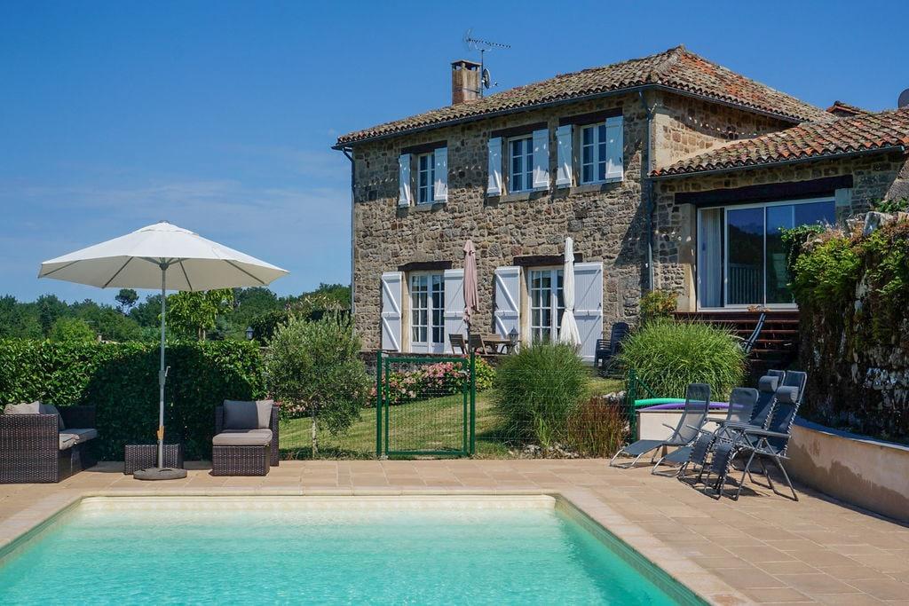 Vintage vakantiehuis in Midi-Pyrénées met een privézwembad - Boerderijvakanties.nl