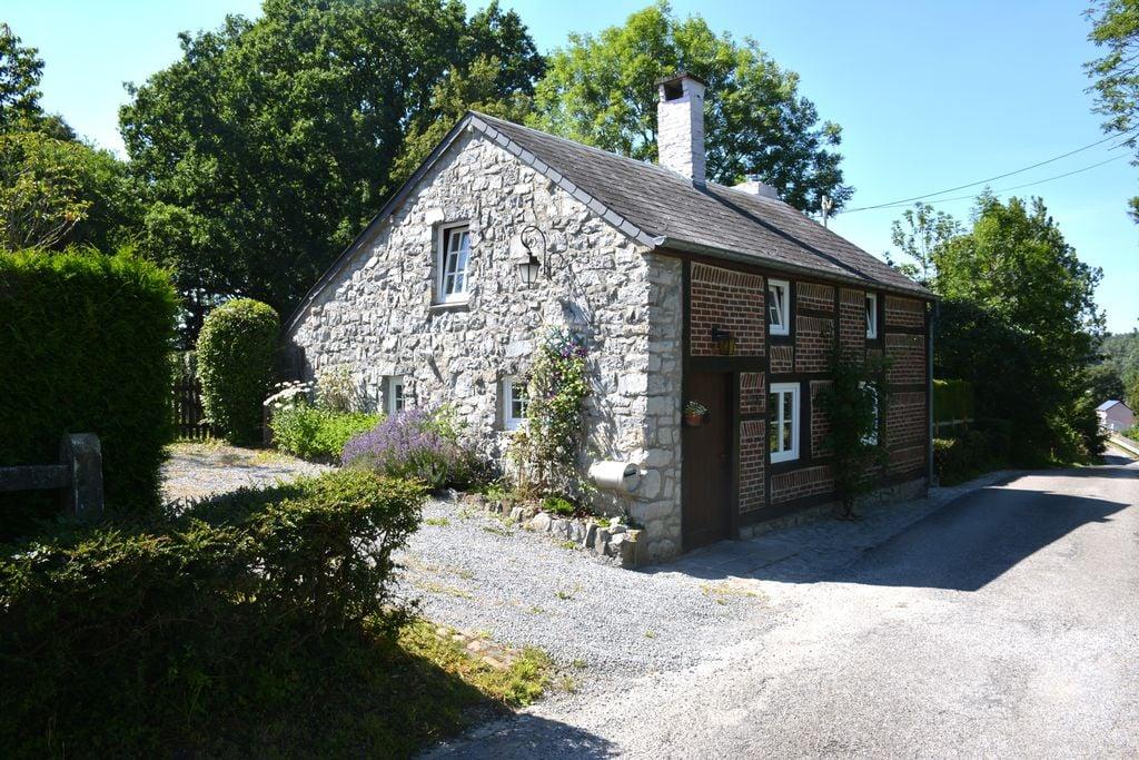 Knusse cottage in Han-sur-Lesse dicht bij het bos - Boerderijvakanties.nl
