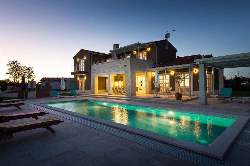 Zeer luxe villa met een privézwembad, sauna en jacuzzi - Boerderijvakanties.nl