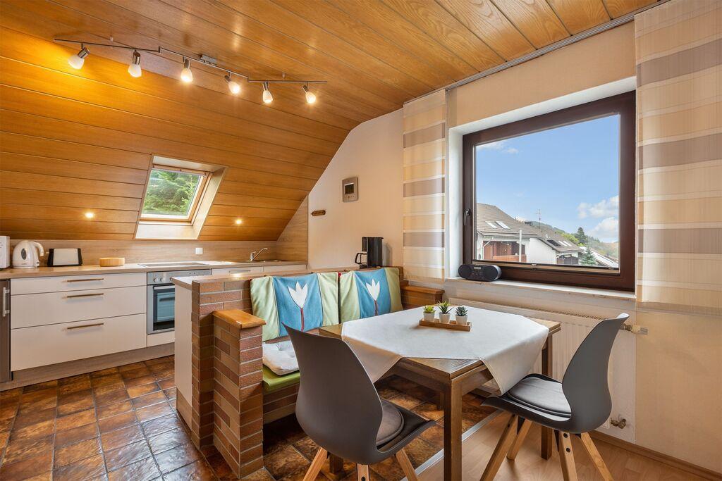 Licht en modern appartement in het Sauerland met overdekt terras - Boerderijvakanties.nl