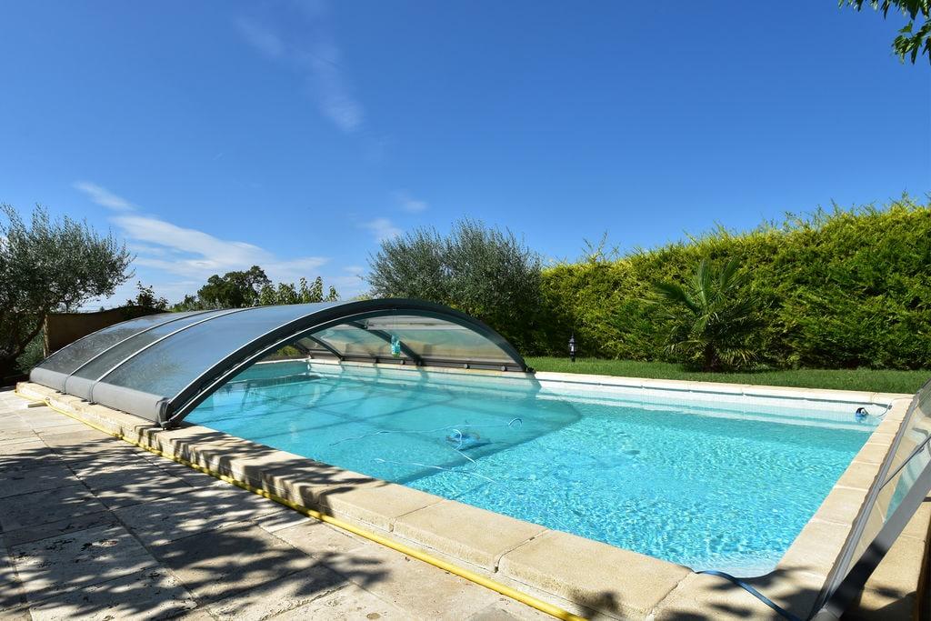 Luxe villa in Régusse met privé zwembad - Boerderijvakanties.nl