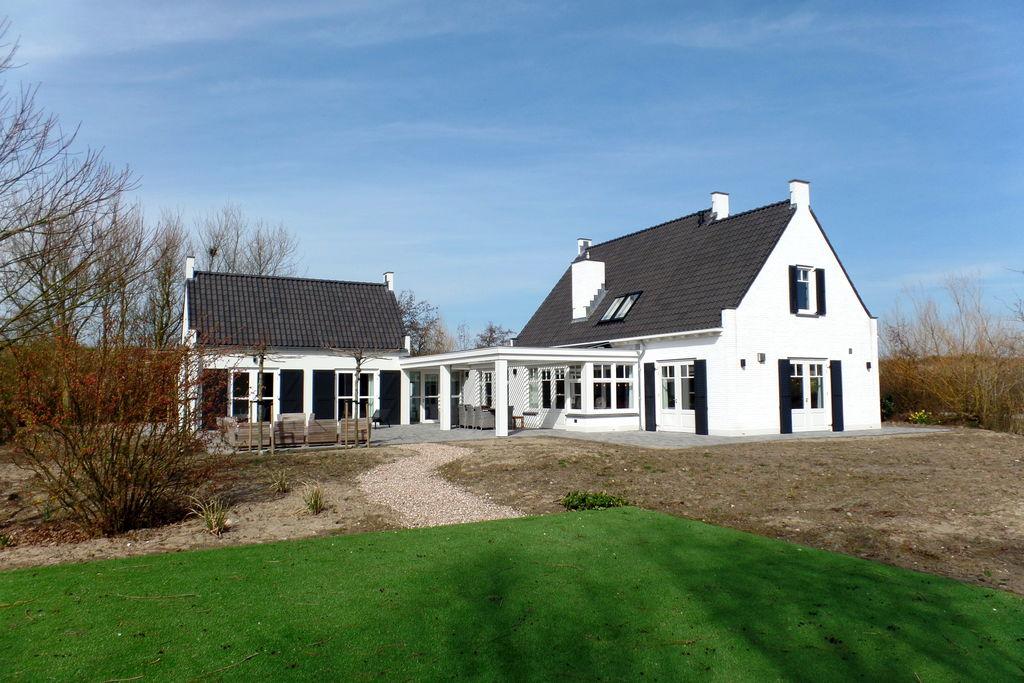 Prachtige vakantiewoning in Ouddorp met sauna - Boerderijvakanties.nl