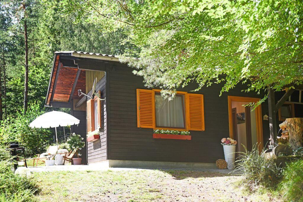 Vrijstaand chalet met terras bij het bos in Oberösterreich - Boerderijvakanties.nl
