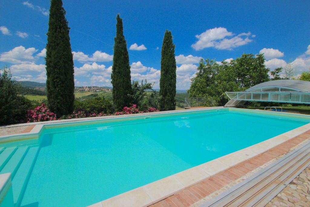 Luxe villa in San Venanzo met een privézwembad - Boerderijvakanties.nl