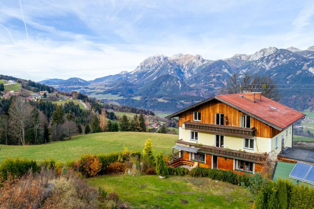 Charmant appartement in Steiermark met uitzicht op bergen - Boerderijvakanties.nl