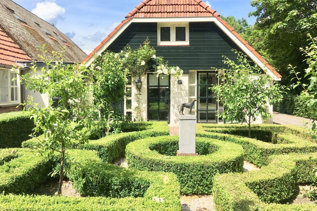 Luxe vakantiewoning in Nieuwleusen met sauna - Boerderijvakanties.nl