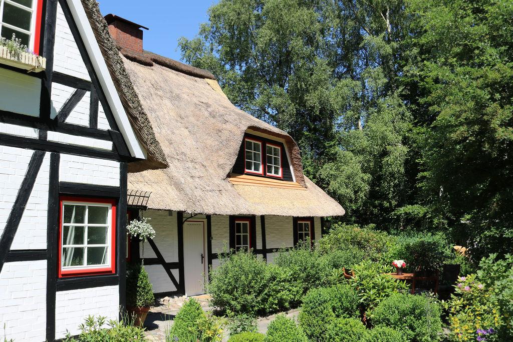 3 appartementen in rietgedekte cottage met buitensauna, grote tuin, speeltuin - Boerderijvakanties.nl
