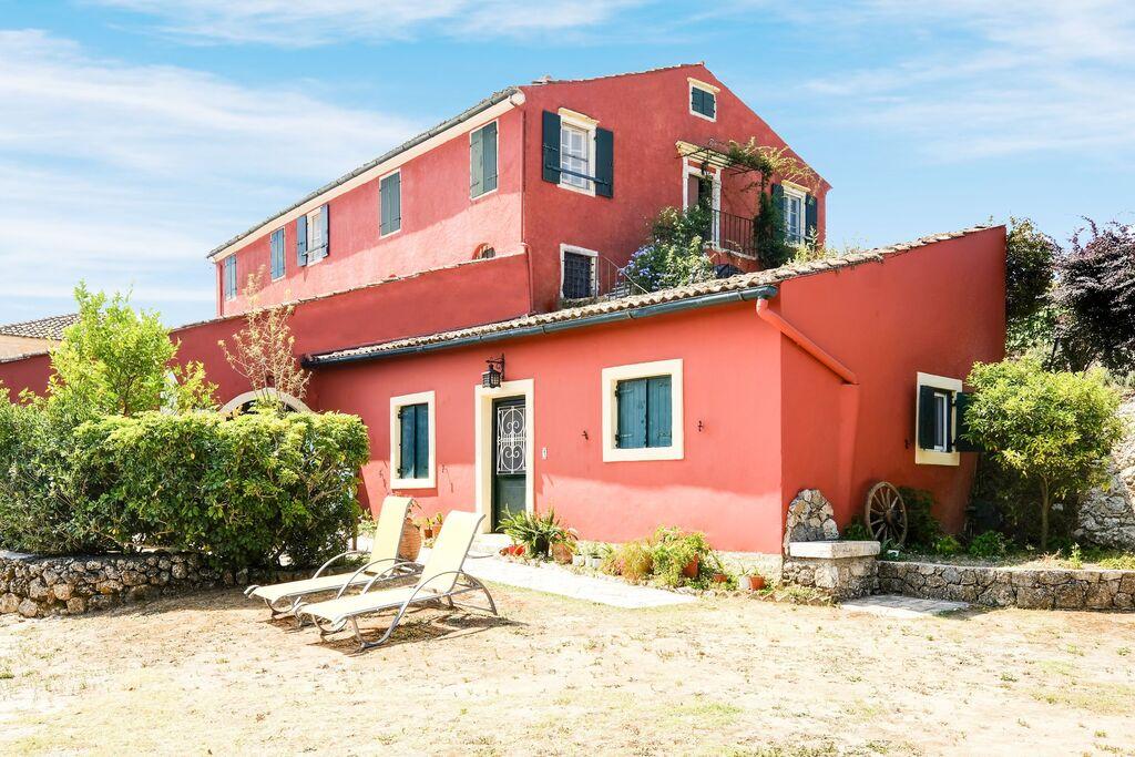 Authentiek appartement op Corfu met een zwembad - Boerderijvakanties.nl