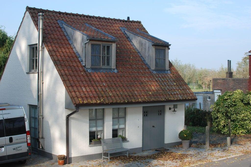 Sfeervol ingericht vakantiehuis in België aan de Damse Vaart - Boerderijvakanties.nl