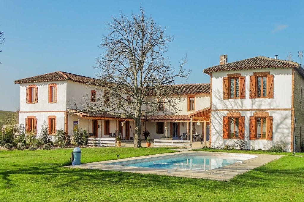 Gezellig landhuis in Zuid-Frankrijk met zwembad - Boerderijvakanties.nl