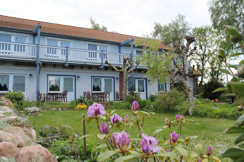 Gezellig appartement met terras bij Rerik, Duitsland - Boerderijvakanties.nl