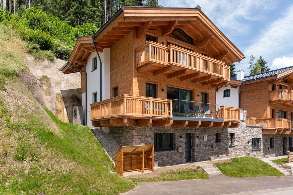Luxueus chalet in Salzburg met privésauna en skiberging - Boerderijvakanties.nl