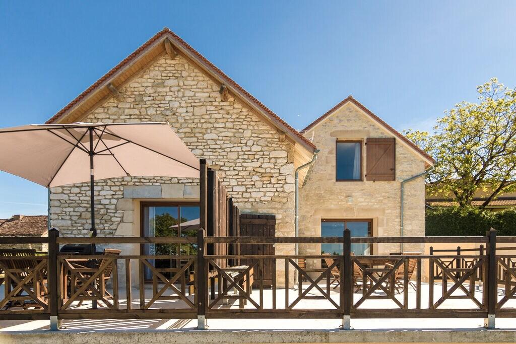 Vanaf uw terras, zwembad of jacuzzi uitkijken over de Dordogne vallei! - Boerderijvakanties.nl