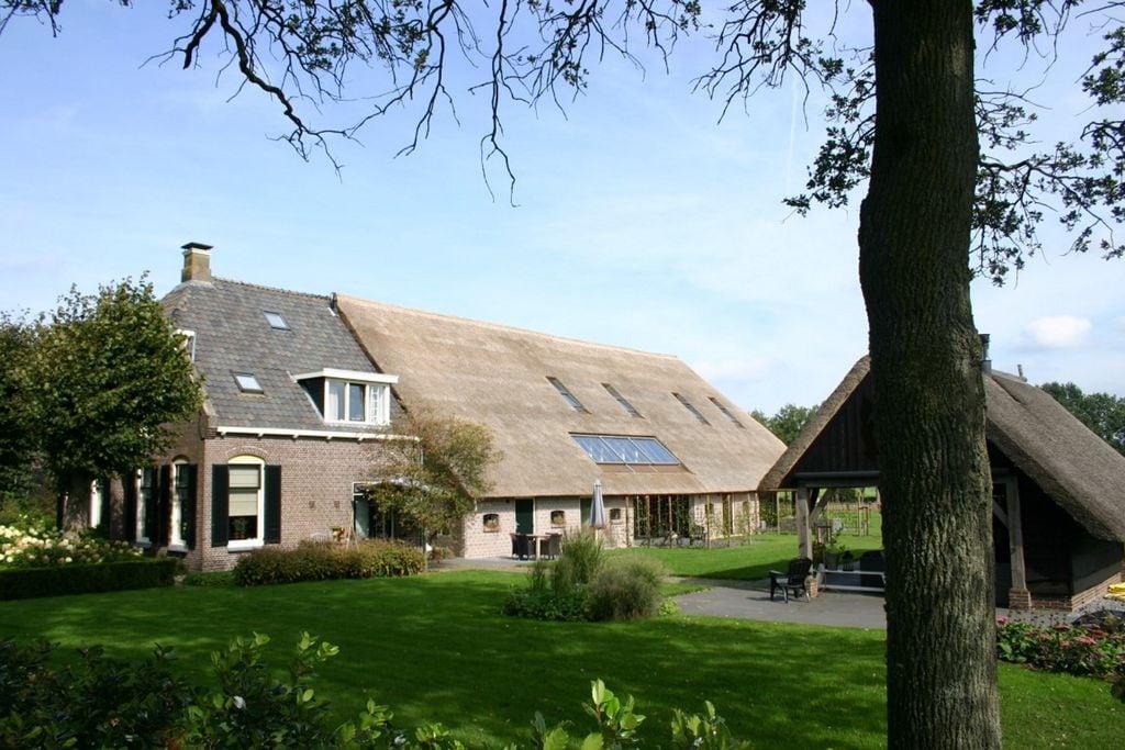 Moderne boerderij bij het Nationaal Park Dwingelderveld - Boerderijvakanties.nl