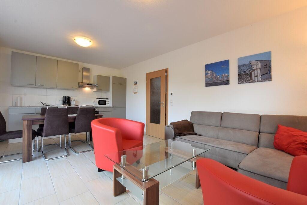 Comfortabe appartement in Boiensdorf nabij de zee - Boerderijvakanties.nl