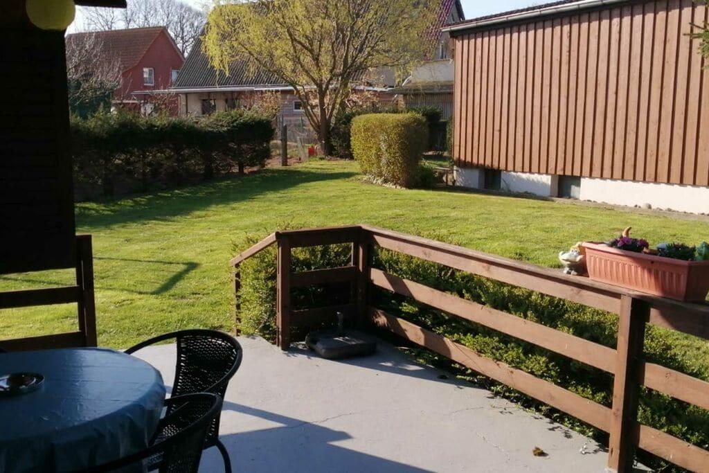 Ruime bungalow in Insel Poel dicht bij het strand - Boerderijvakanties.nl
