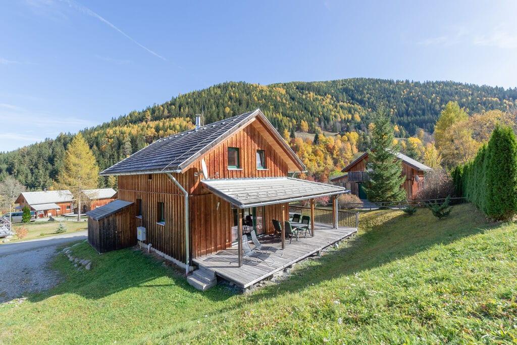 Modern luxe chalet heerlijk overdekt terras en sauna - Boerderijvakanties.nl