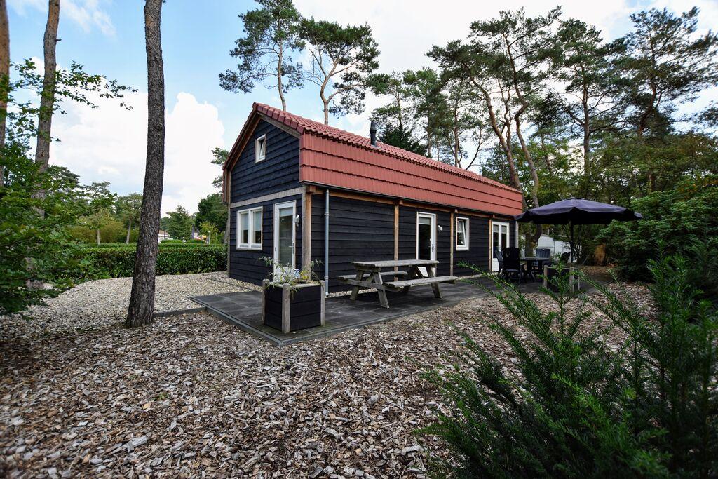 Moderne villa aan de rand van de Veluwe op vakantiepark in bosrijke omgeving - Boerderijvakanties.nl