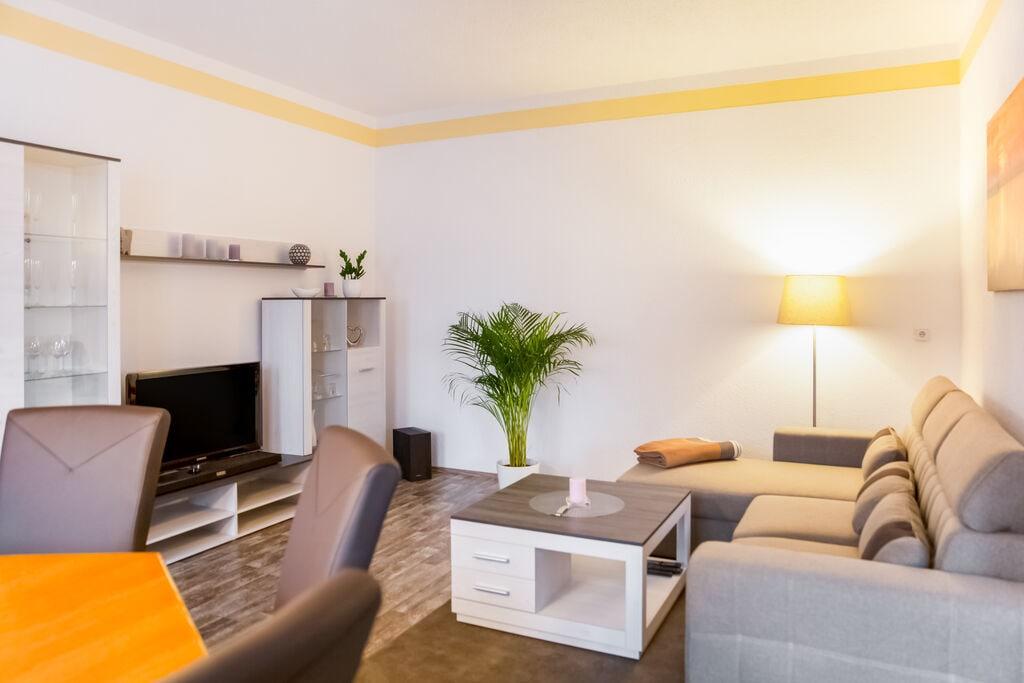 Sfeervol appartement in Neukieritzsch met tuin - Boerderijvakanties.nl