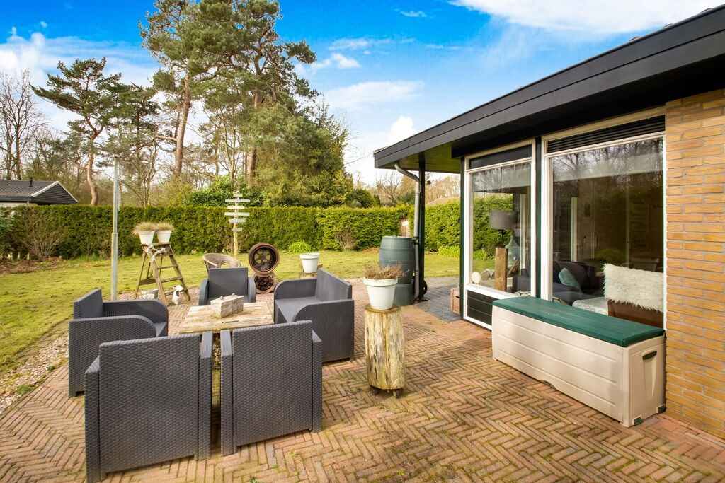 Gezellige bungalow in Denekamp met tuin - Boerderijvakanties.nl