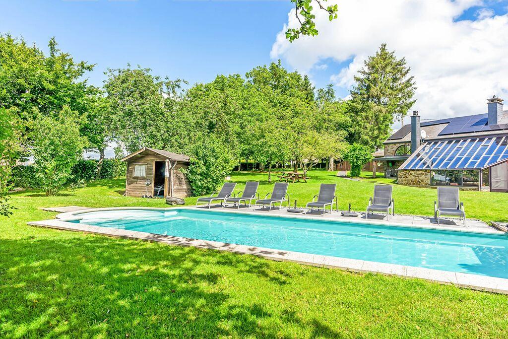 Aangenaam vakantiehuis in La Roche-en-Ardenne met zwembad - Boerderijvakanties.nl