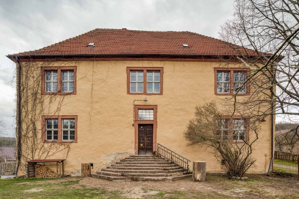 Authentiek landhuis in Mansfeld met privétuin - Boerderijvakanties.nl