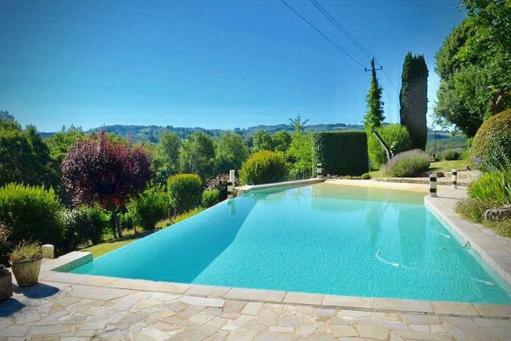 Prachtige villa in Tamniès met privézwembad, in het zuiden van de Dordogne! - Boerderijvakanties.nl