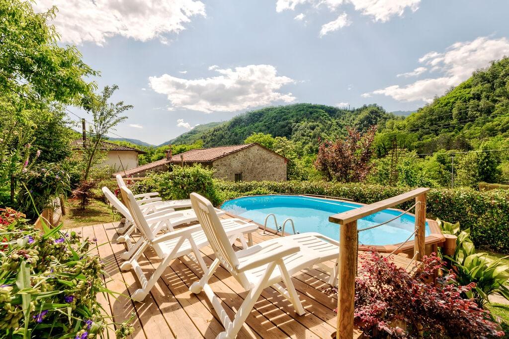 Heerlijk vakantiehuis in Bagni di Lucca met een zwembad - Boerderijvakanties.nl