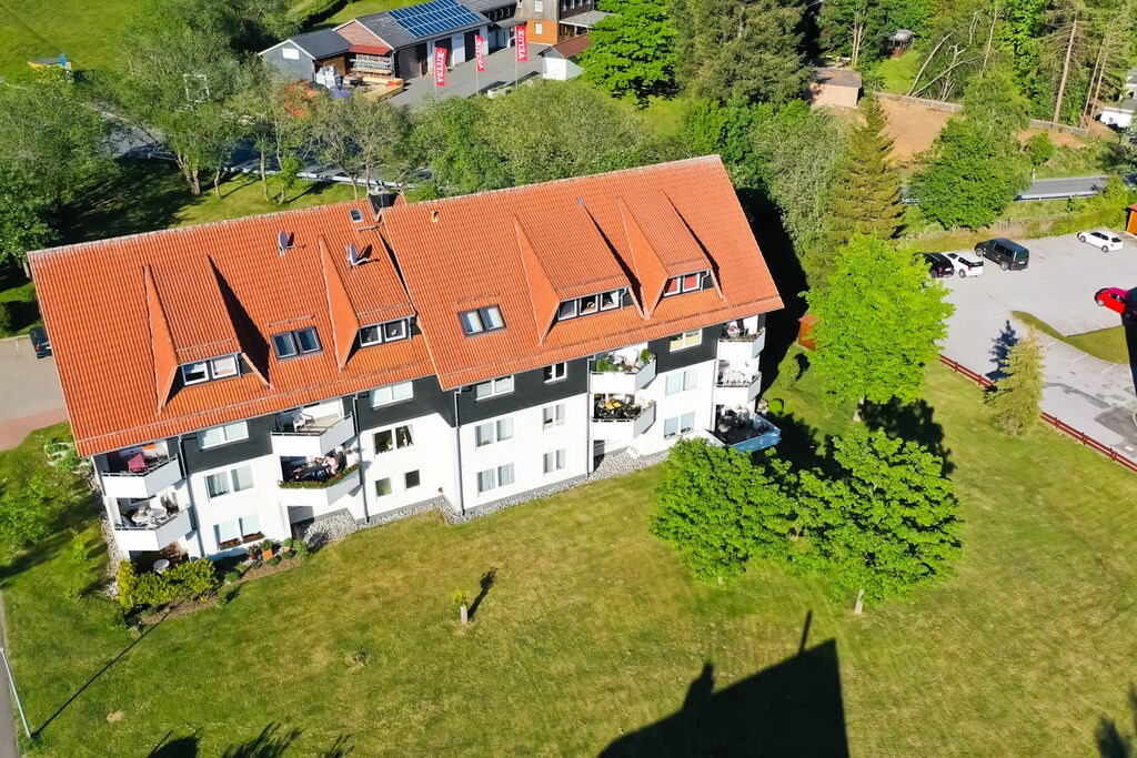 Gezellig vakantie-appartement in Sankt Andreasberg met gebruik van de tuin - Boerderijvakanties.nl