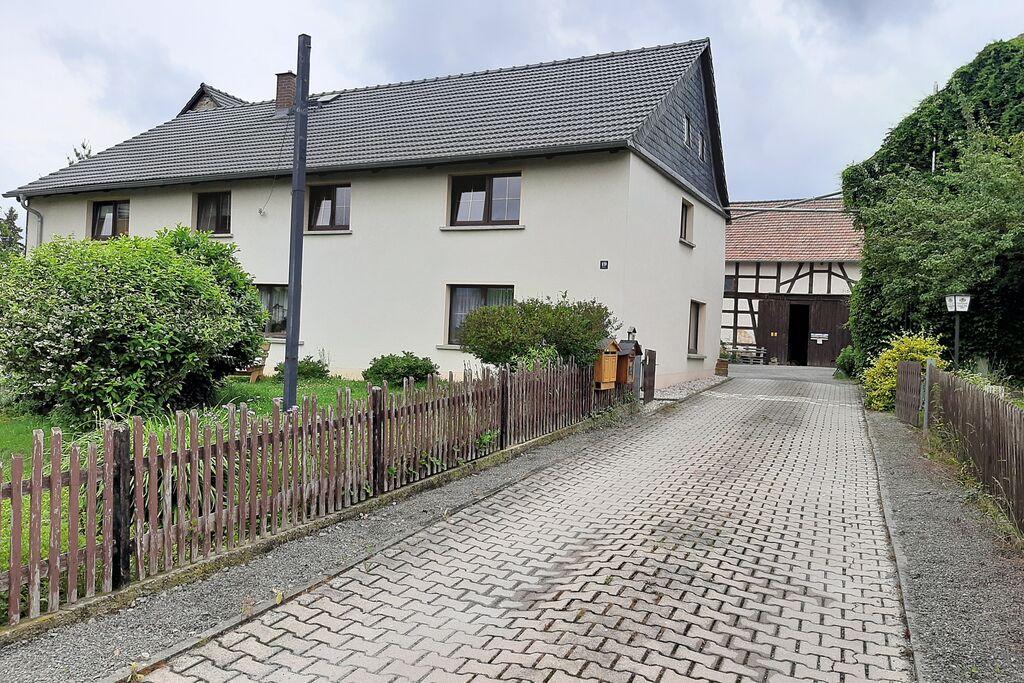 Fijn appartement in Braunichswalde met privéterras - Boerderijvakanties.nl