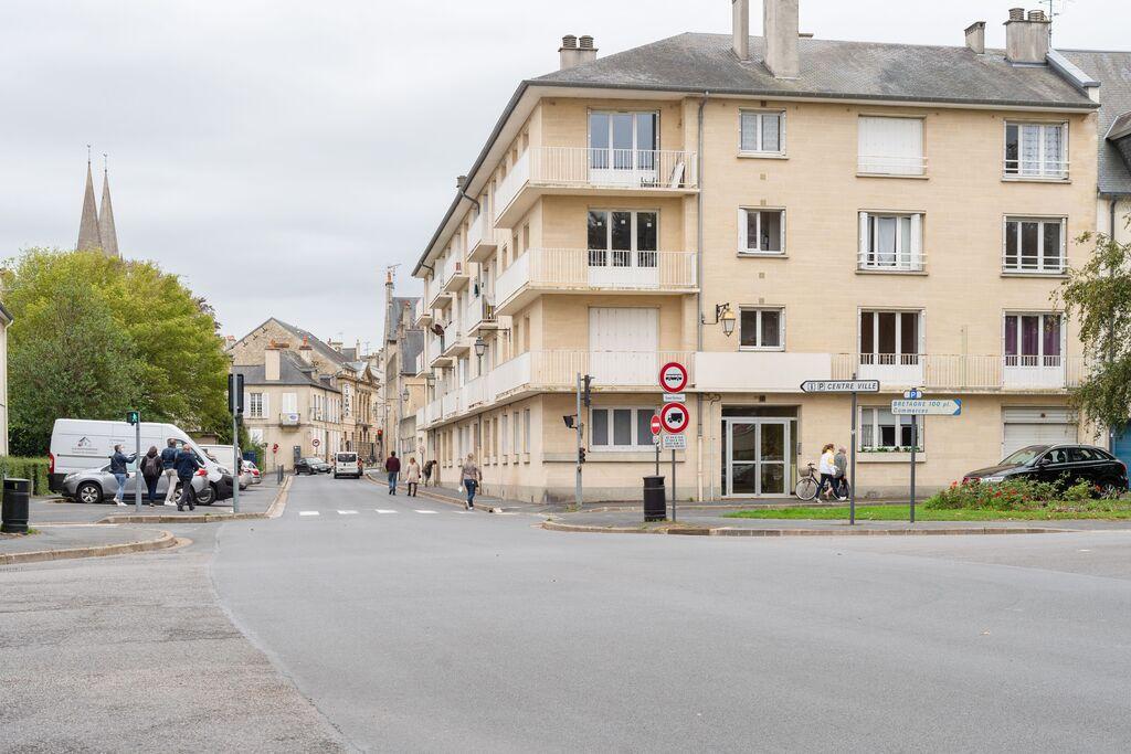 Sfeervol appartement midden in het centrum van Bayeux - Boerderijvakanties.nl