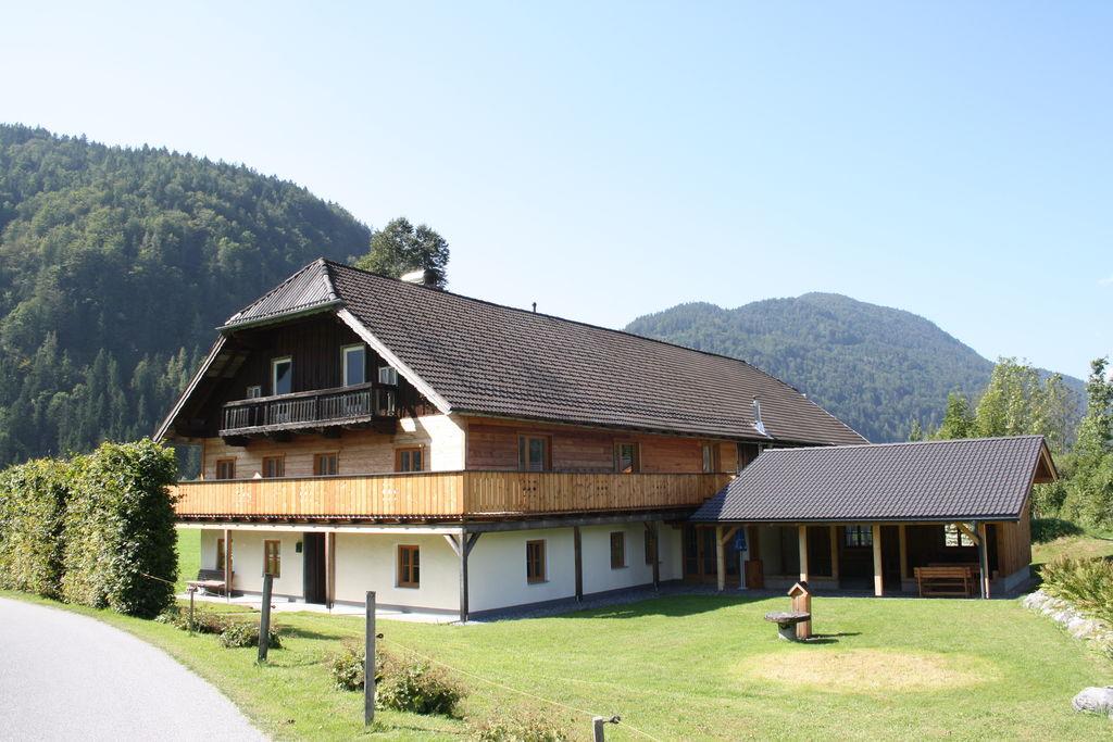 Fijne vakantiewoning in Abtenau vlak bij het skigebied - Boerderijvakanties.nl