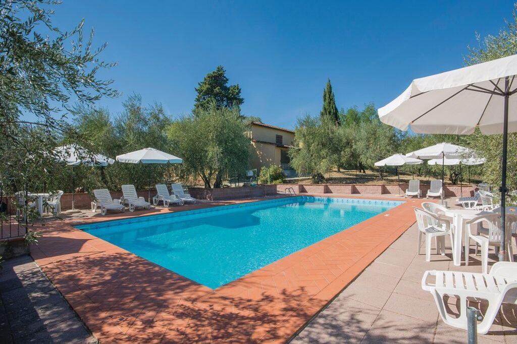 Leuk appartement in San Casciano Val di Pesa met een tuin - Boerderijvakanties.nl