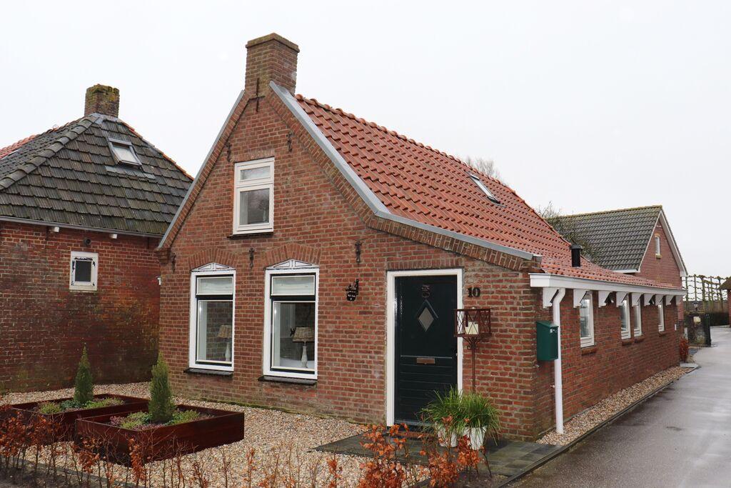 Pittoresk vakantiehuis in Paesens aan het wad - Boerderijvakanties.nl