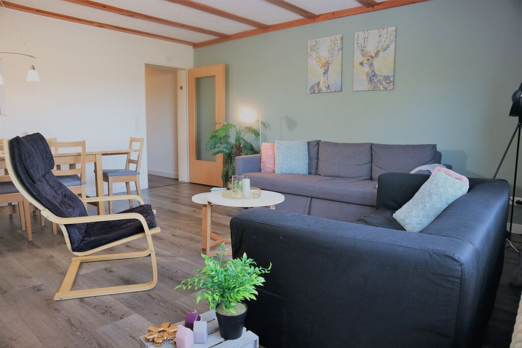 Comfortabel appartement in Winterberg met een tuin - Boerderijvakanties.nl
